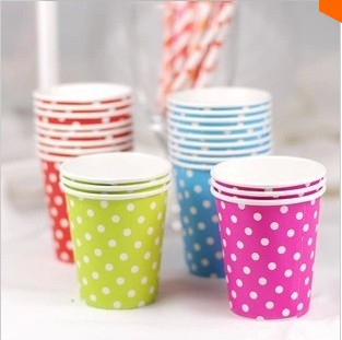 Free Shipping 100pcs/lot Year-End Big Promotion Wholesale Coffee Cup Tea Cup Disposable Cups Party Supplies Mugs And Cups(China (Mainland))