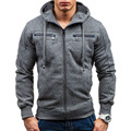 2017 Hoodies Men Sudaderas Hombre Mens Good Quality Zipper Hoodie Sweatshirt Suit Slim Fit Men Hoody