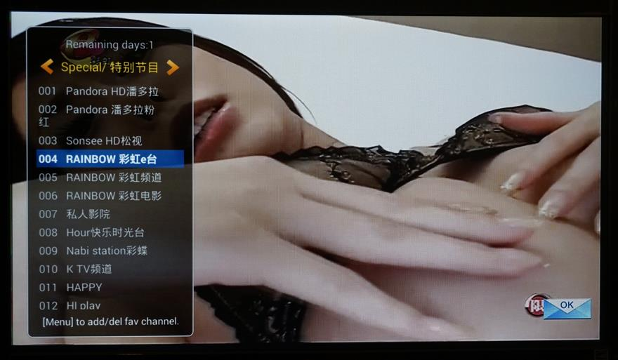 online adult channel