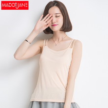 Mary Jane camisole female summer 2015 new cool sleeveless shirt short section of solid color camisole