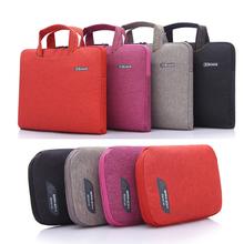 Jean design 11.6 14.1 15.6 inch laptop handbag case para notebook ultra-thin briefcase for mac book 13 air pro retina for woman