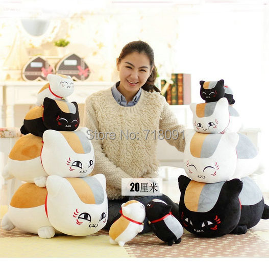 Natsume,Plush Stuffed Toy,Waist Cushion & Pillow,Mr Cat Teacher Doll For Children Birthday Gifts,1PC