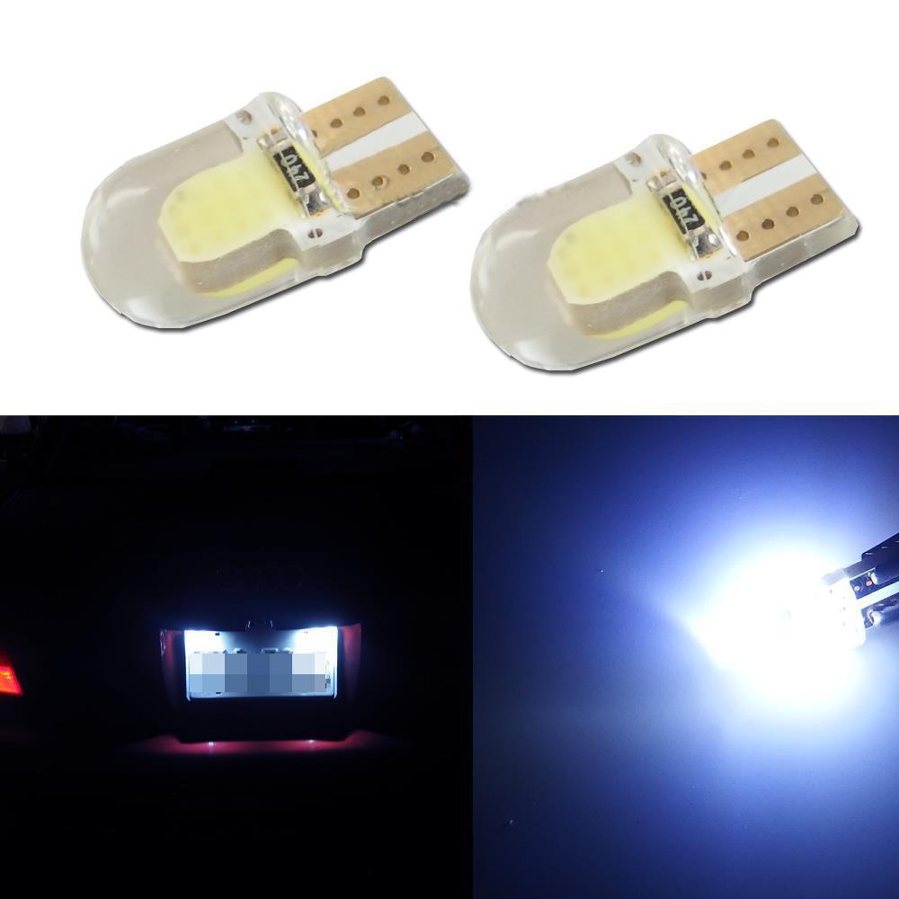 High Power T10 W5W LED COB W5W T10 COB Canbus Error Led car Motorcycle light source stop turn signal brake Parking Bulb Lamp(China (Mainland))