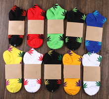 High Quality Weed Socks For Men Women Men's Harajuku Marijuana Style Cotton Sport Sock Chaussette Meias Mens Calcetines WZ008