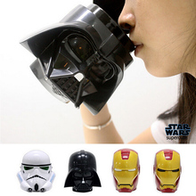 Star Wars 3D Mug Cup Darth Vader Stormtrooper Iron Man Mug Creative Cups And Mugs Coffee Tea Cup Office Home(China (Mainland))