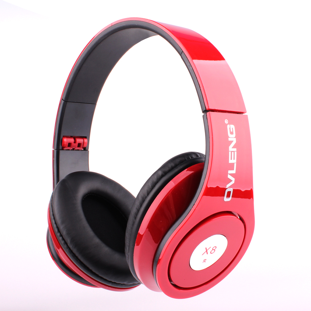 2016 New Ovleng X8 3 5mm Folding Stereo Headphones Earphones Headset Detachable Cable Controller for Mobile