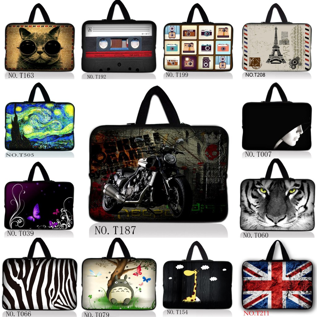 "10.6"" 11.6"" 12"" 13.3"" 13"" 14"" 15.6"" 15"" 17.3"" 17"" Laptop Sleeve Case Bag + Hide Handle TOSHIBA Sony HP Asus Lenovo Acer MSI"