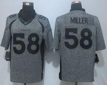 100% Stitiched,Denver Bronco Von Miller Demaryius Thomas Derek Wolfe Trevor Siemian Elite Elite(China (Mainland))