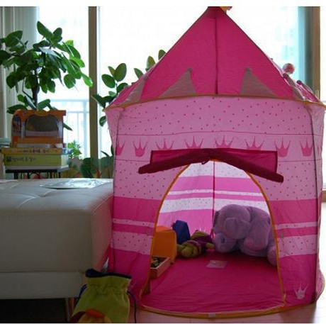 2015 new style HOT Castle Kid Child Baby Play Tent Fun Playhouse Outdoor Indoor Tent blue and Pink and blue child gift(China (Mainland))