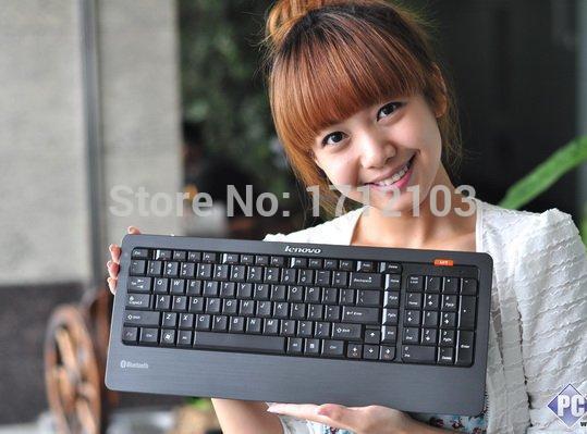 Lenovo A700 B510 Genuine Bluetooth WIRELESS Keyboard Spanish German etymons LXH-JME8002B for HTPC Tablet Surface pro iOS Android(China (Mainland))