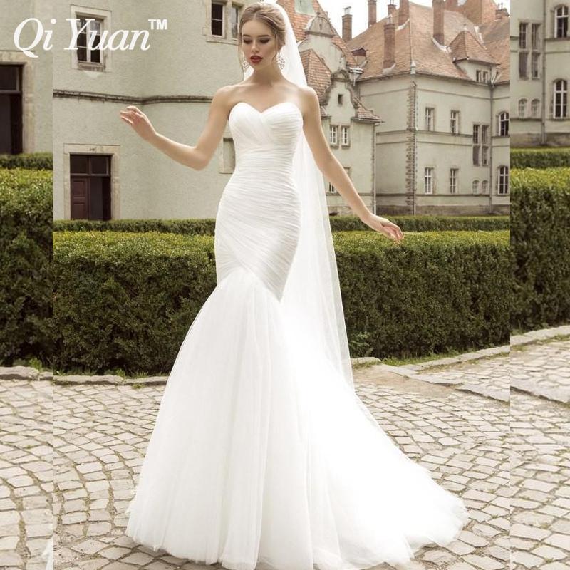 Buy real photo white mermaid wedding for True mermaid wedding dresses