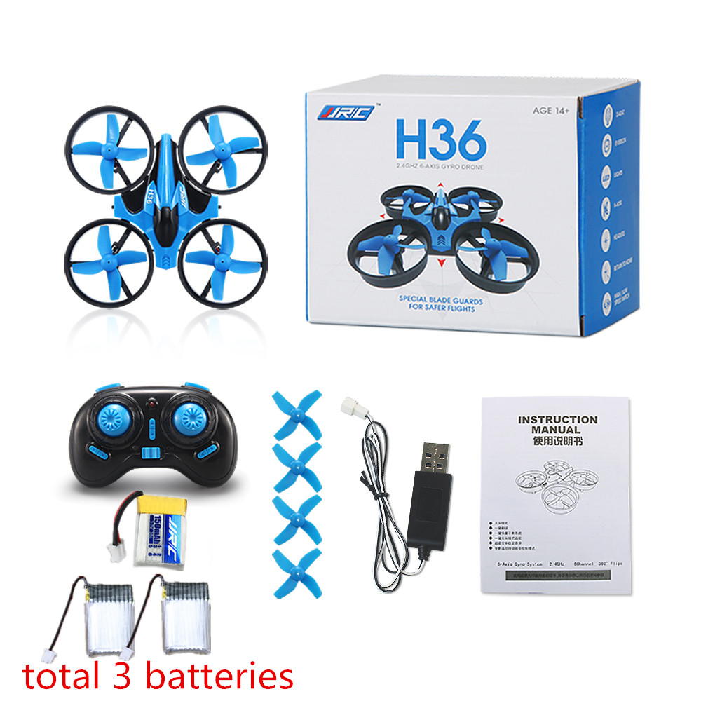 JJRC H36 Mini Drone RC Drone Quadcopters Headless Mode One Key Return RC Helicopter VS JJRC H8 Mini H20 Dron Best Toys For Kids(China (Mainland))