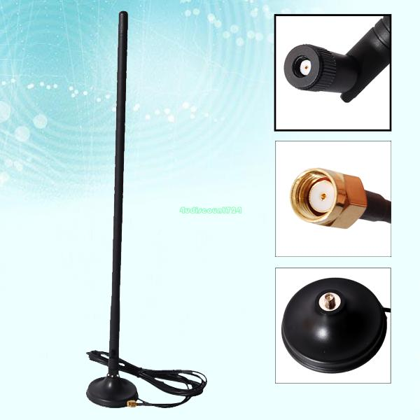 20DBi WIFI Booster Wireless Directional Antenna RP-SMA ForModem Router PCI Card EL0307(China (Mainland))