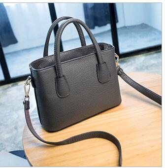 2016 spring and summer women's handbag genuine leather brief messenger bag small square shoulder bags(China (Mainland))