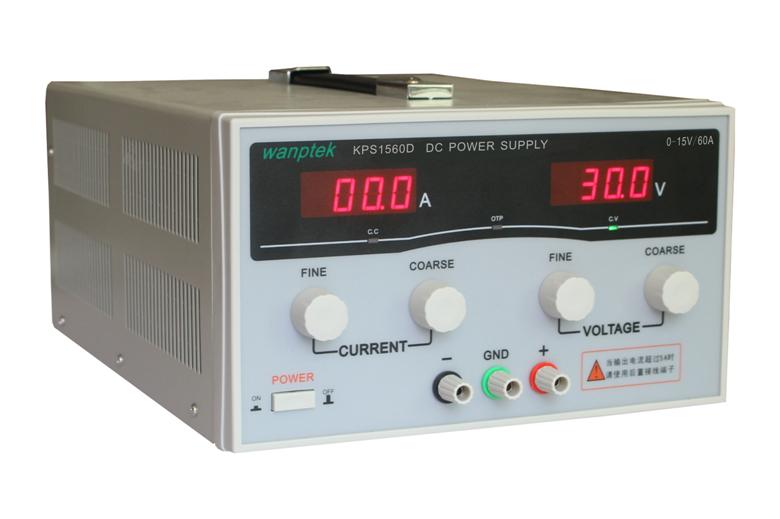 Free shipping KPS1560D 15V 60A digital adjustable DC Power Supply High power Switch DC power supply 110/220V 0.1V 0.1A(China (Mainland))