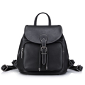 Trendy String Flap Daypack MINI Backpack Women Fashion Belt Buckle Simple Small Packsack 2016 New Designer