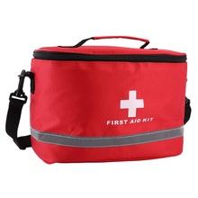 Открытый аптечка Спортивная Сумка для кемпинга домашняя медицинская Аварийная сумка для выживания посылка нейлоновая ударная сумка через ...(China)