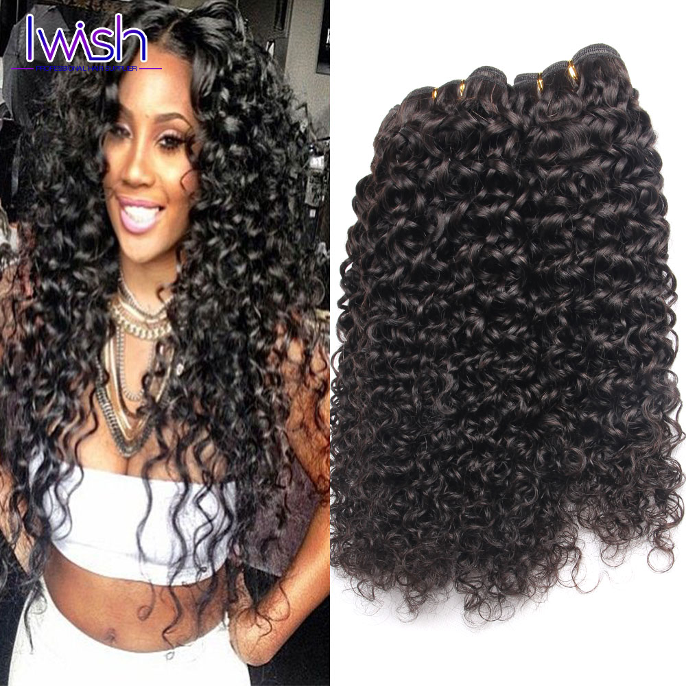 Indian Virgin Hair Afro Kinky Curly Hair 3Pcs Lot Indian Curly Hair Bundles Vip Beauty Hair Store Virgin Indian Deep Curly Hair