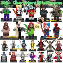Single Sale Minifigures Sale Marvel Super Hero Avengers Iron Man Batman Deadpool Building Blocks Model Bricks Toys(China (Mainland))