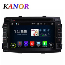 Kanor 1024 600 Quad Core Android 5 11 car dvd gps for KIA Sorento 2010 2011