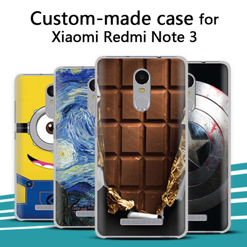 Xiaomi Redmi Note 3 2 4X case,Unique 3D cartoon custom-made painted back cover case Xiaomi Redmi 4X Customized case