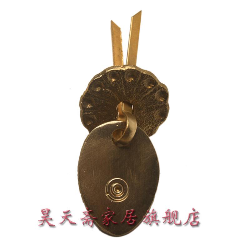 [Vegetarian] Haotian copper furniture handle / drawer handle copper / bronze handle / antique handle HTE-110<br><br>Aliexpress