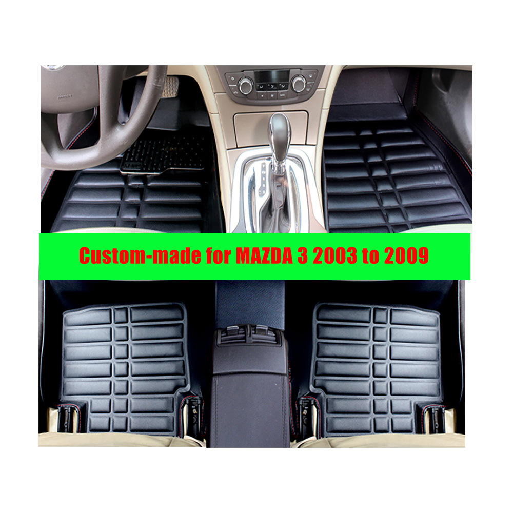 Floor mats mazda 3 - For Old Mazda 3 2003 To 2009 Left Hand Drive Fly5d Car Floor Mats Front Amp