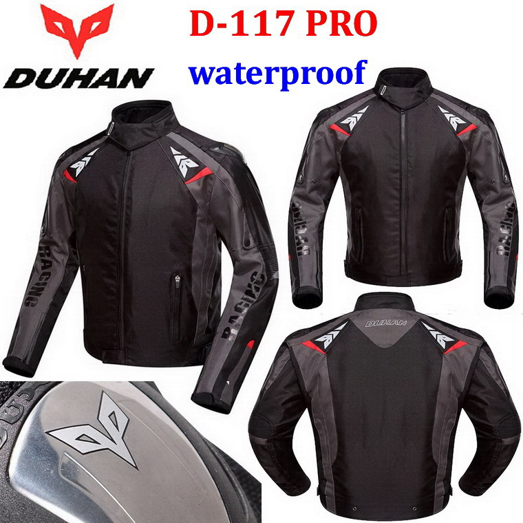 2015 New DUHAN Summer waterproof Motorcycle Jacket Moto riding clothes motorbike clothing Racing suits drop resistance Oxford