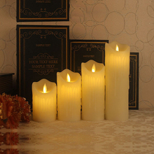 Remote Control LED Electronic Flameless Candle Lights Simulation Flame Flashing Candle Lamps Valentine's Day Party Decoration(China (Mainland))