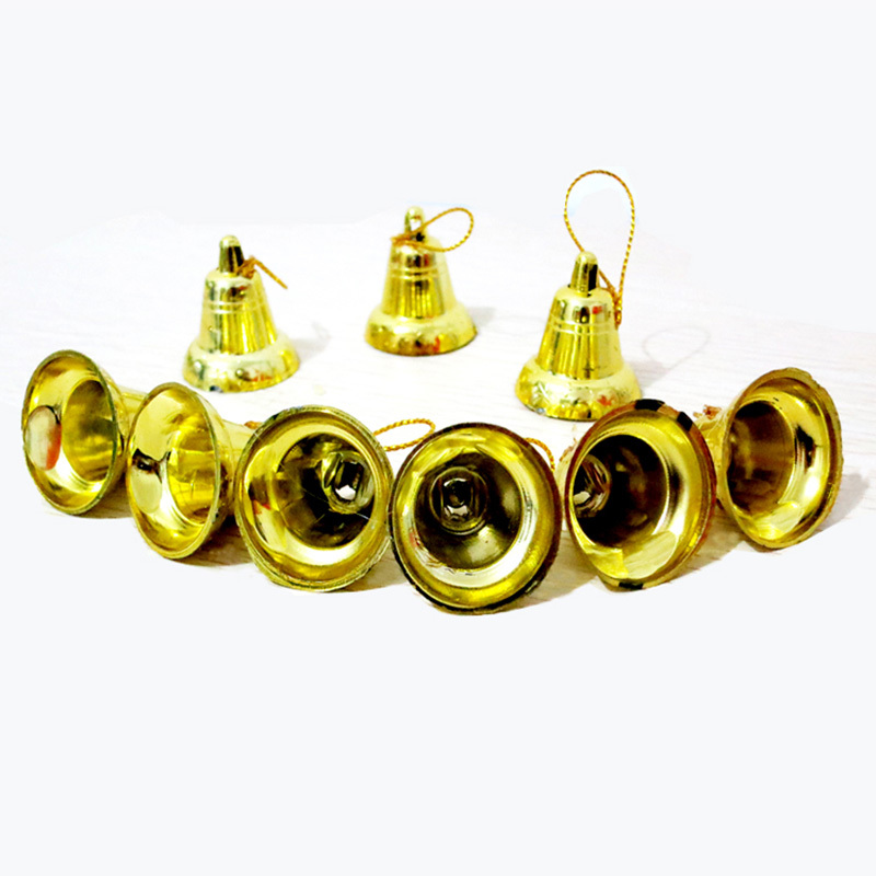 Christmas Tree Ornament Xmas Decoration Golden Bell Hanging Accessory #74326(China (Mainland))