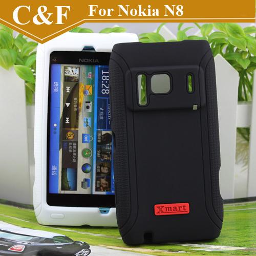 Оригинальный бренд XMART мастер силиконовый чехол для Nokia N8 новый защитный чехол 4 цветов выбрать + бесплатная доставка