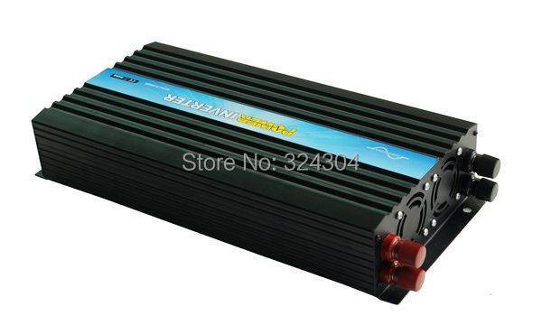 CE&RoHS&SGS Approved.Pure Sine Wave DC12V-AC120V 2000W Solar Pump Inverter, Free Shipping+ One Year Warranty(China (Mainland))