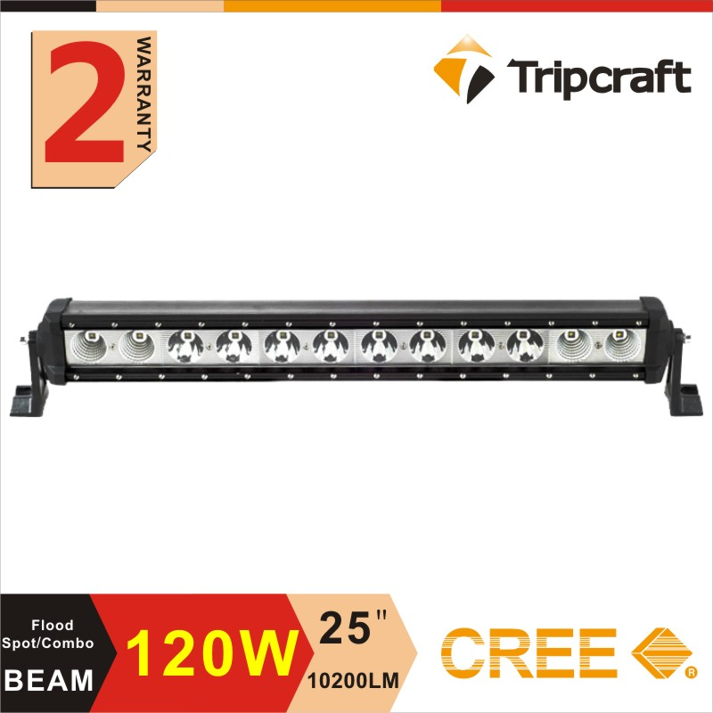 Factory direct professional design high quality 25 inch 120W spot flood combo work driving led light lamp bar Offroad SUV ATV(China (Mainland))