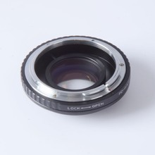 Buy Focal Reducer Speed Booster Turbo adapter ring FD Lens m4/3 mount camera GF6 E-PL6 GX1 GX7 EM5 EM1 E-PL5 BMPCC for $72.50 in AliExpress store
