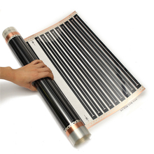 One Square meter floor Heating film (No accessories), AC220V far infrared heating film 50cm x 2m(China (Mainland))