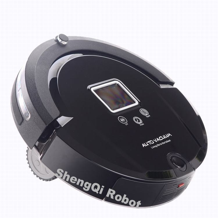 Auto Vacuum cleaner Good Robot Black with UV SQ-A320,clean mop(China (Mainland))