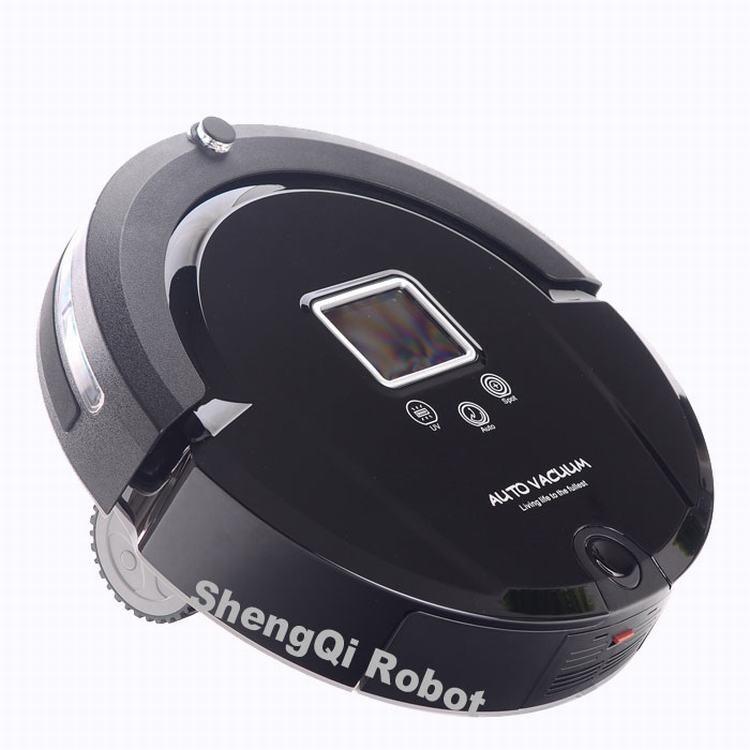 Auto Vacuum cleaner Good Robot Vacuum Cleaner with UV Lamp A320 Vacuum clean mop Robotic Aspirador Black(China (Mainland))