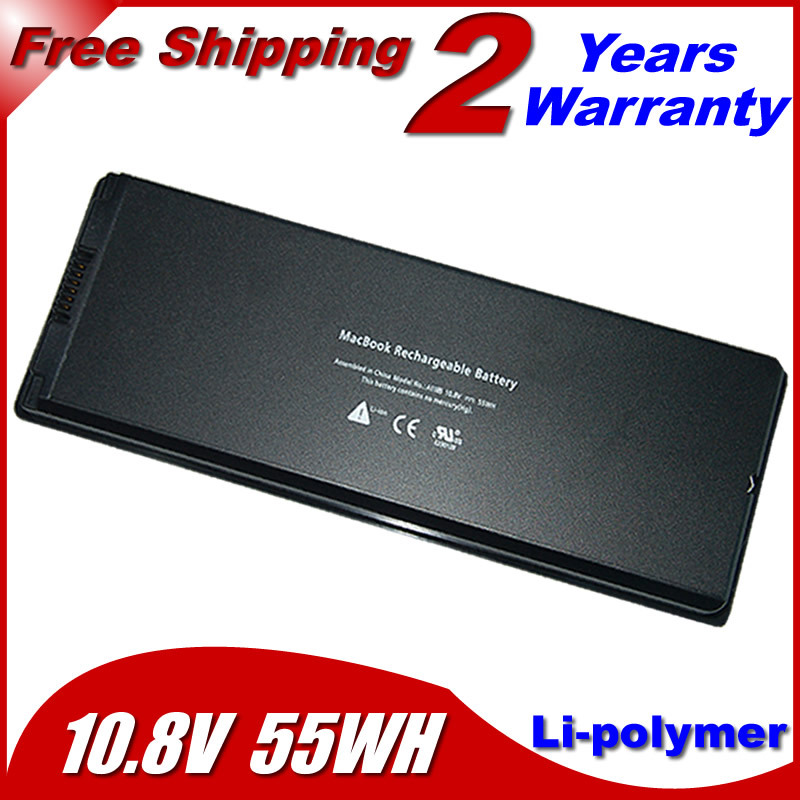 """55wh Laptop Battery For apple MacBook 13"""" MA254 MA255 MA699 MA700 a1185 ma566 ma561 MA561FE/A MA561G/A MA561J/A(China (Mainland))"""