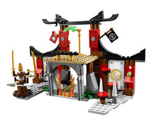 Toys children CHINA BRAND 10319 self-locking bricks Compatible Lego Ninjago Dojo Showdown 70756 - zhichao shaw's store