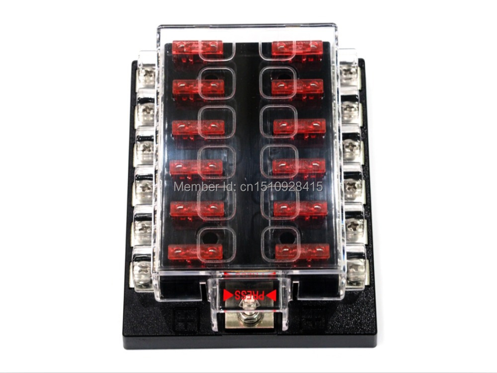 boat cleats picture more detailed picture about 12 way blade fuse box bar kit car boat