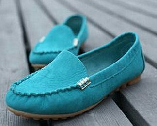 2015 fashion color block decoration flat heel boat shoes color block pointed toe flat loafers gommini