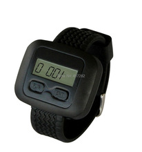 singcall. wireless call bell,paging system,waiter by watch receive customer request service information.(China (Mainland))