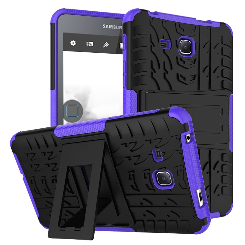 Heavy Duty Rugged Armor Dazzle Shockproof KickStand Fundas Case For Samsung Galaxy Tab A 7.0″ T280 T285 Tablet Cover Case Coque