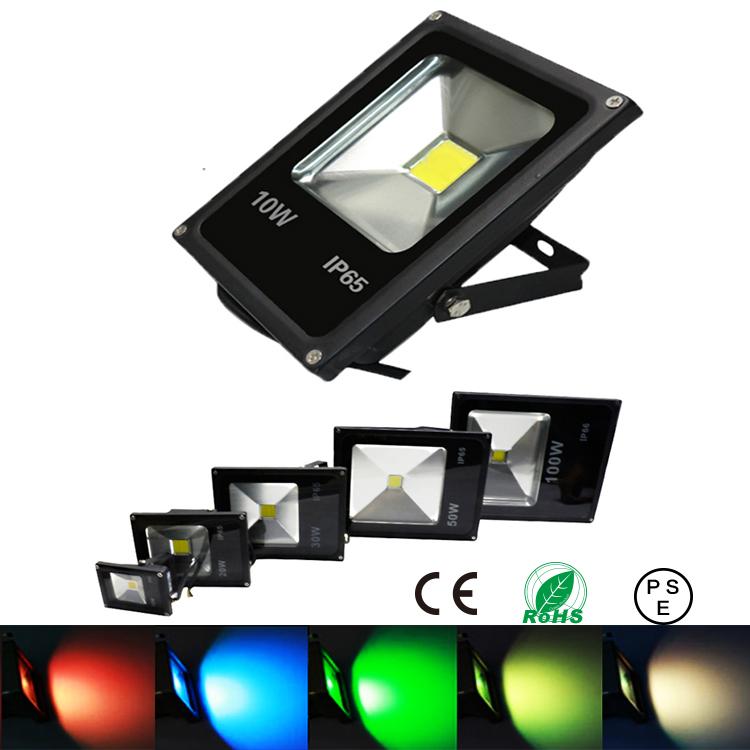 10W 20W 30W 50W led floodlight spotlight outdoor lighting RGB spot flood light lamp reflector refletor foco exterior projecteur(China (Mainland))