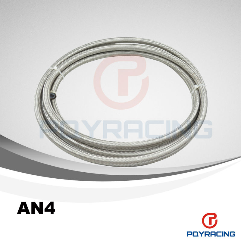 """WLR STORE-4 AN 4 AN4 3/16"""" PTFE Stainless Braided Teflon Hose(China (Mainland))"""