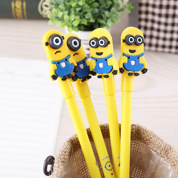 30pcs/lot Korea stationery cartoon gel pen eyed glasses pens wholesale school supplies<br><br>Aliexpress