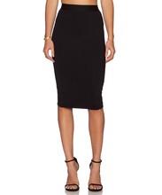 2015 Hot Sale OL Women Slim Fitted Knee Length Pencil Skirt High Waist Straight Multi-color 63