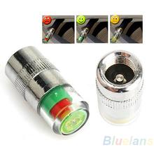 4PCS Car Auto Tire Pressure Monitor Valve Stem Caps Sensor Indicator Eye Alert Diagnostic Tools Kit 02HN 3AEM(China (Mainland))