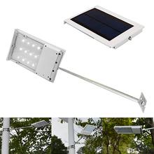 12 leds 1.8W 2400mA security solar wall light solar power light sensor led wall lamp outdoor emergency solar led wall light(China (Mainland))