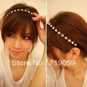 Free shipping mixed order over 10usd fashion rhinestone noble sweet hair band hair clip hair jewelry